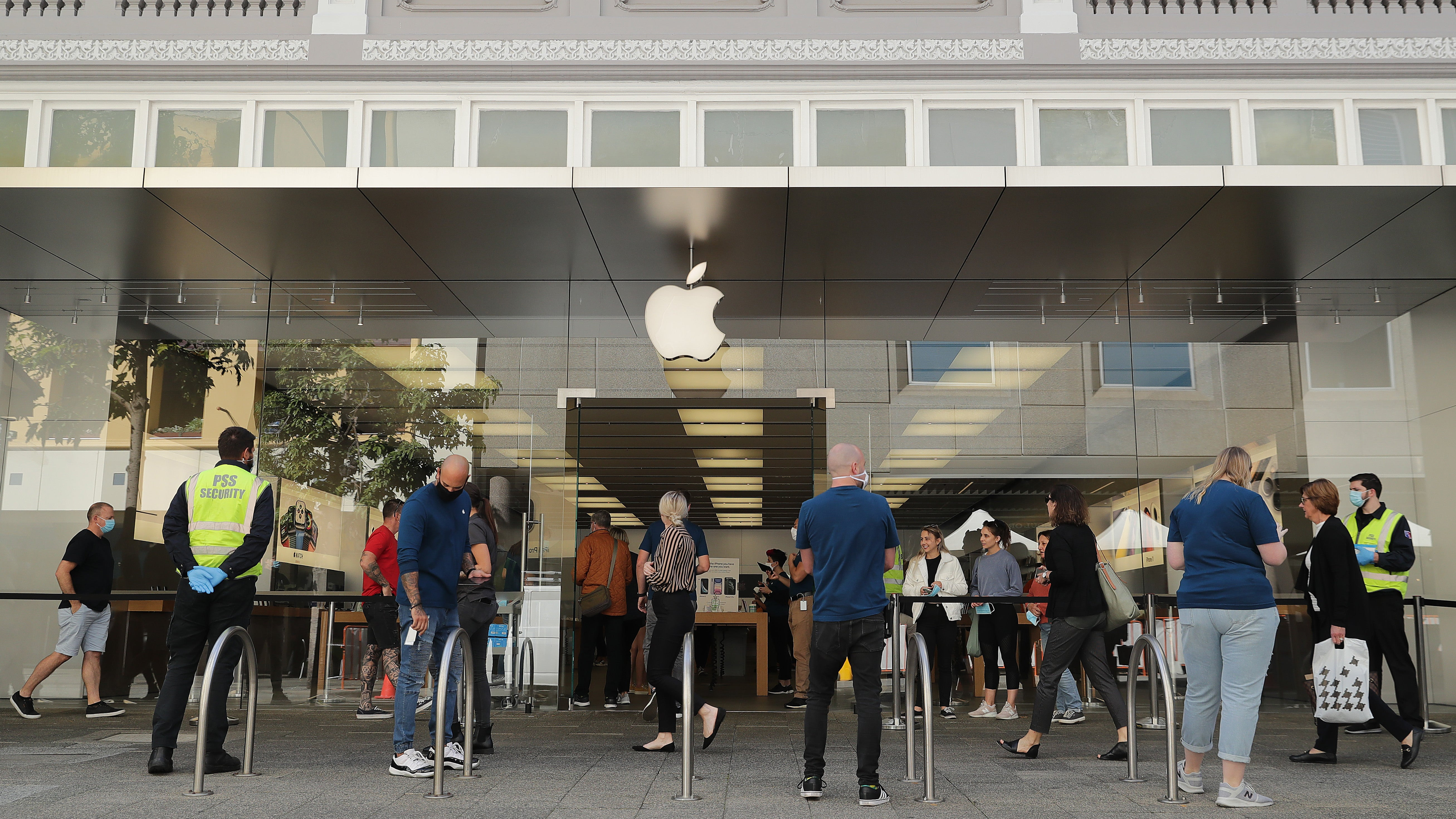 Apple Is Reopening 25 Stores In The U.S. With Some New Rules