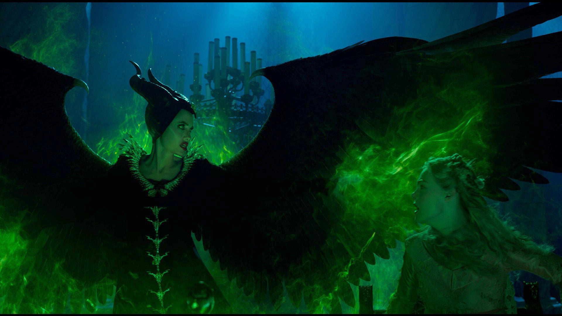 Angelina Jolie Is Back To Her Wicked Ways In The First Trailer For Maleficent: Mistress Of Evil