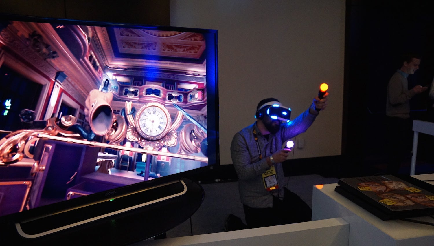 How Sony's Impressive First-Person Shooter Virtual Reality Demo Works