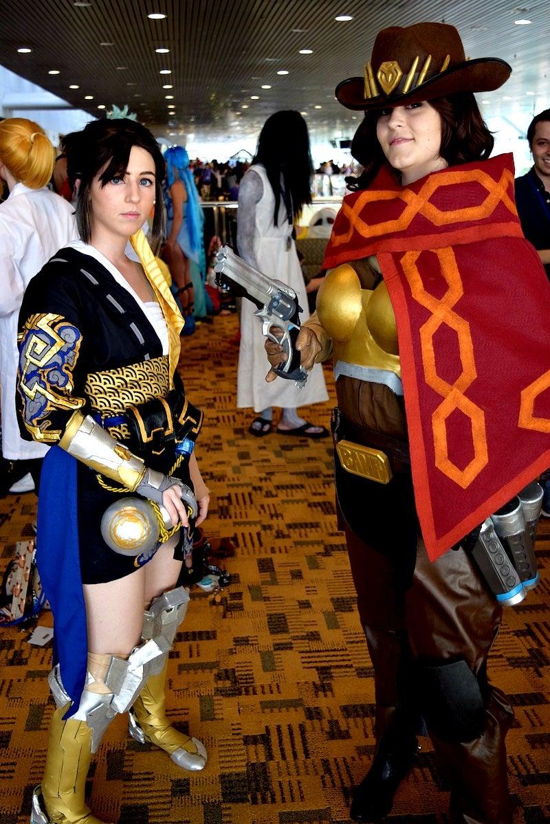 Women Rocked Overwatch Cosplay At Baltimore's Otakon