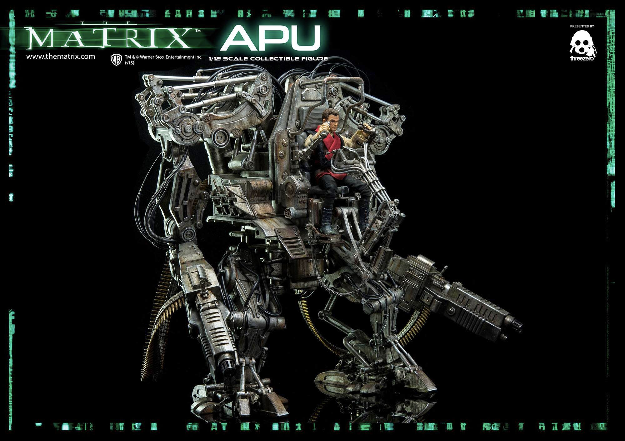 Despite the Movie, This Mech From The Matrix Revolutions Is Marvellous