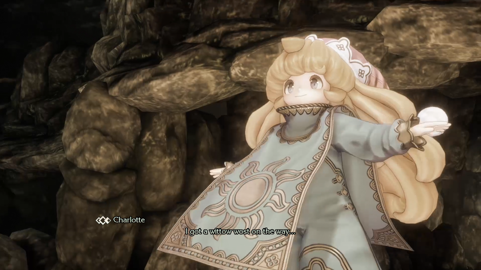 Trials Of Mana's Healer Talks Like A Baby And Pwease, No