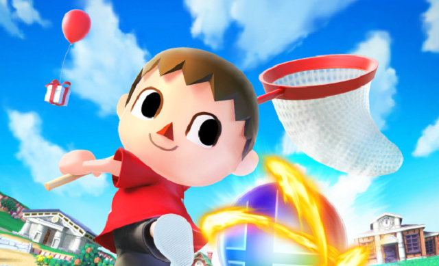 The Villager Is A Giant Troll In Super Smash Bros.
