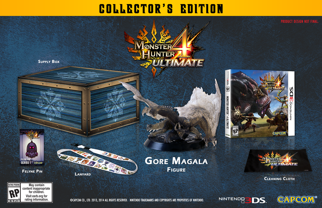 Here's The 3DS Monster Hunter 4 Ultimate Collector's Edition