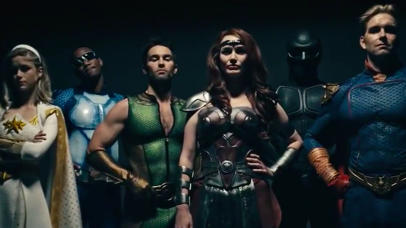The Latest Trailer For Amazon's The Boys Is About How Messy A Superpowered World Would Be