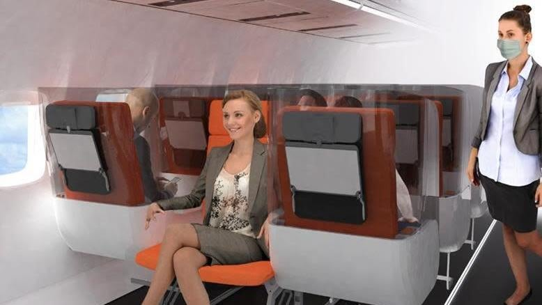 This Italian Company Thinks It Knows What Post-Pandemic Aeroplane Cabins Will Look Like