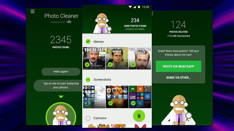 Magic Cleaner Removes All the Junk Images You've Received On WhatsApp