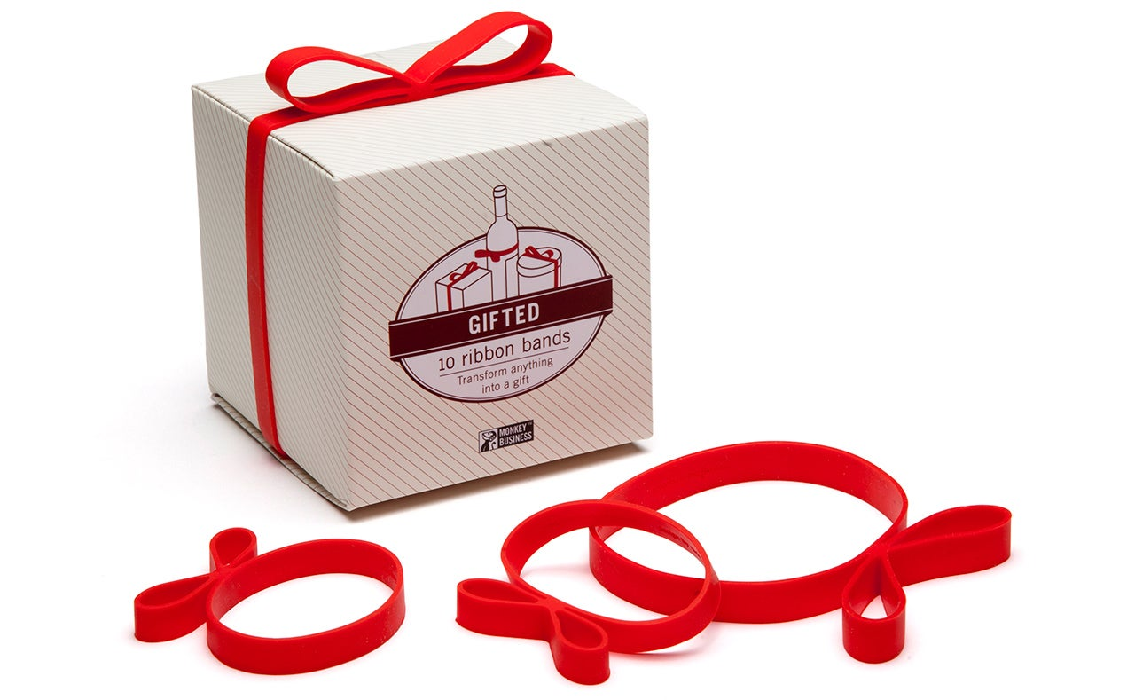 Elastic Bows Make Gift Wrapping Impossibly Easy
