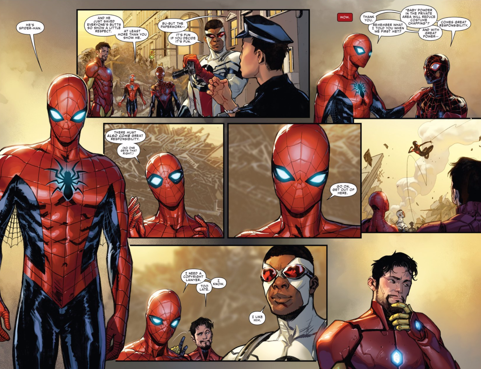 Spider-Man Is Totally OK With Letting Someone Else Be Spider-Man