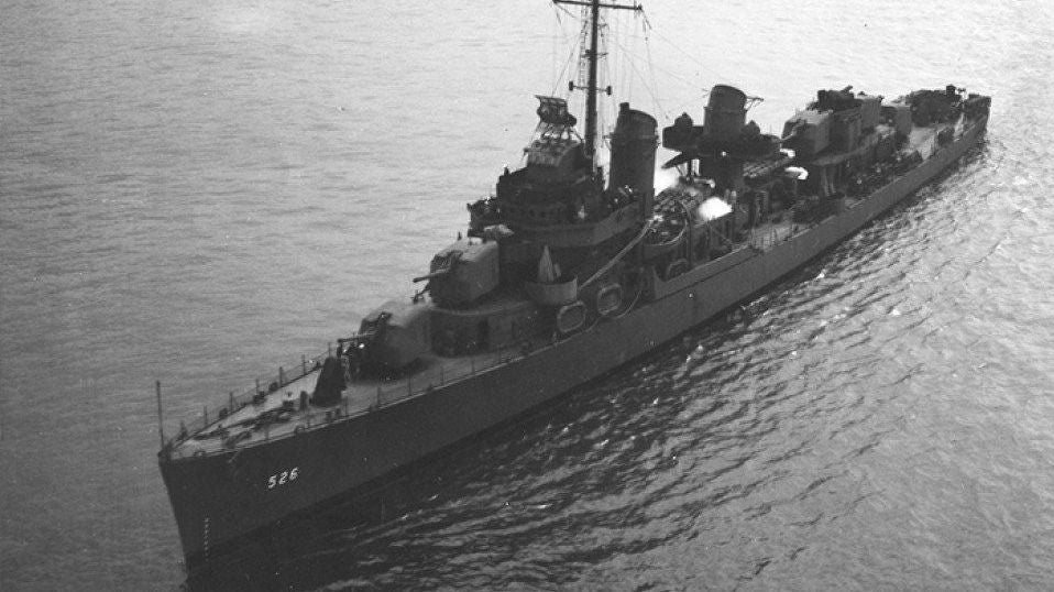 Section Of US Warship From WW2 Discovered Off Alaskan Coast