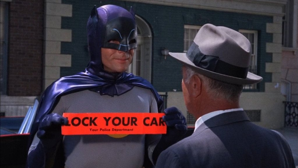The Old Batman Had a Bit of a Labelling Problem