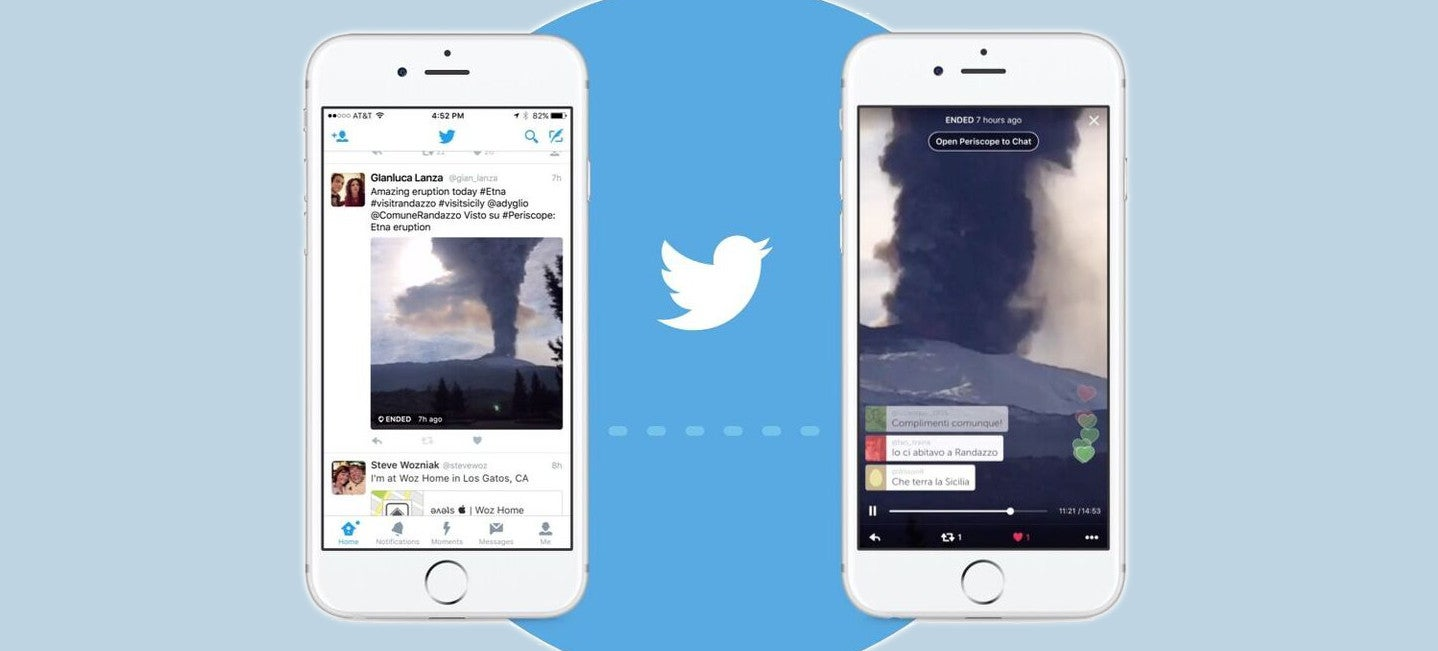 Periscope Feeds Now Play in Your Twitter Timeline