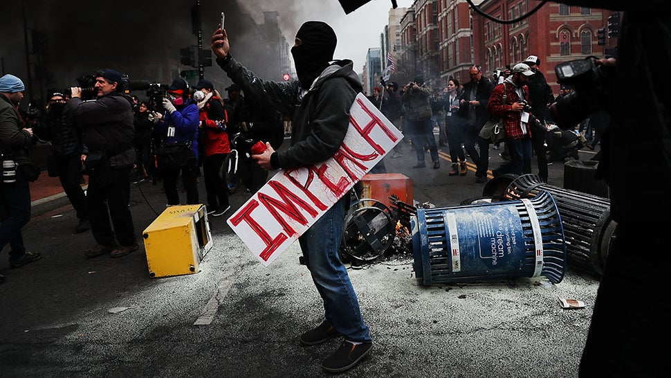 Prosecutors Say They Are Hacking Over 100 Phones Confiscated At US Inauguration Protests