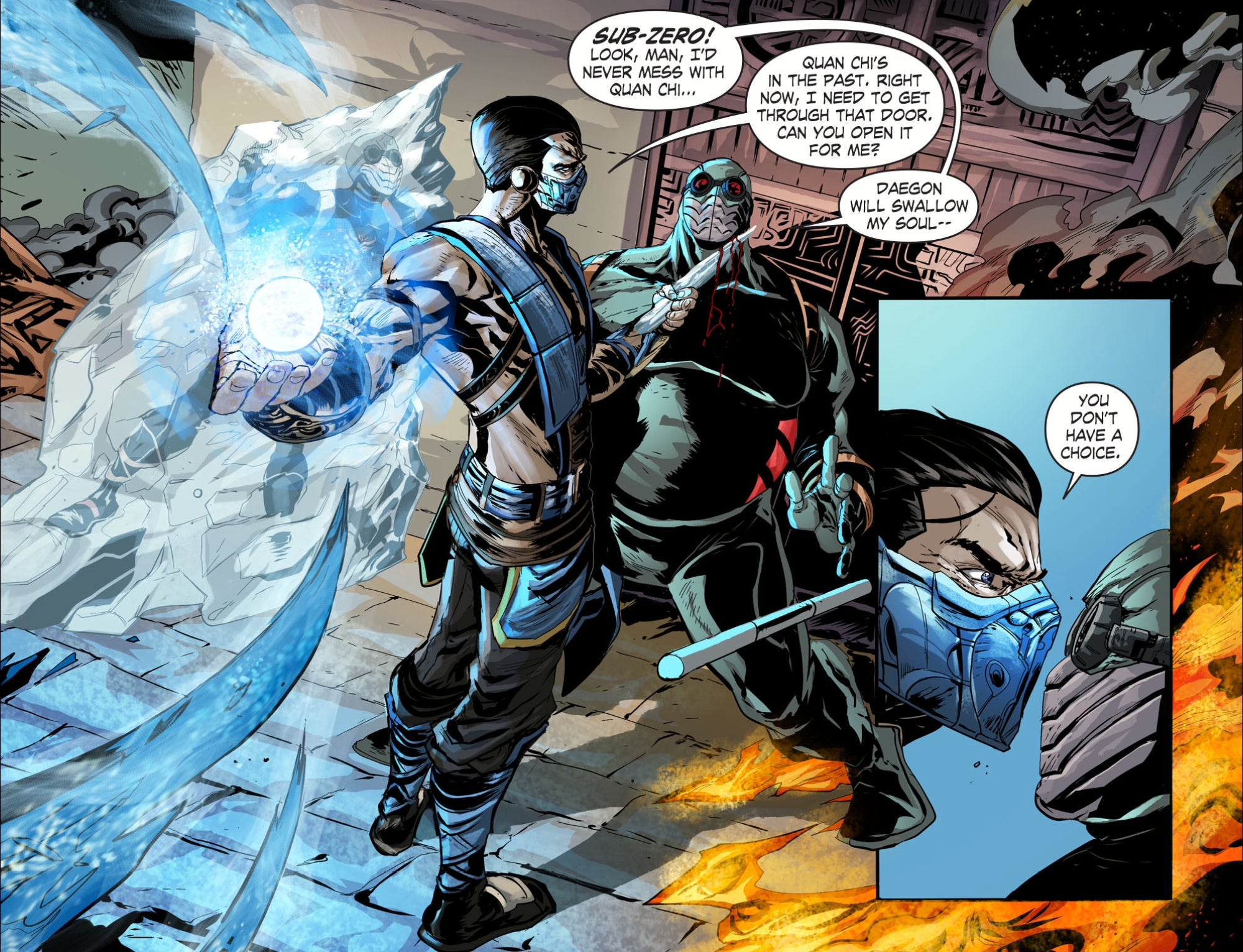 The New Mortal Kombat Comic Isn't Even Bad in a Good Way