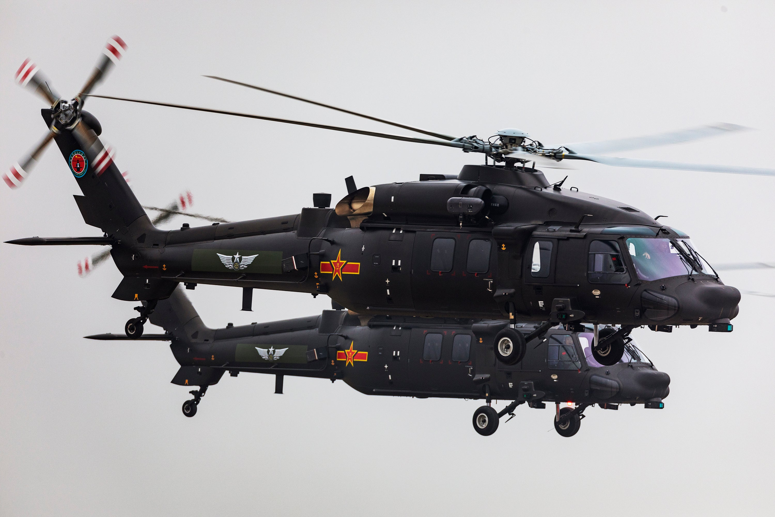 China's Z-20 Helicopter Looks Awfully Familiar