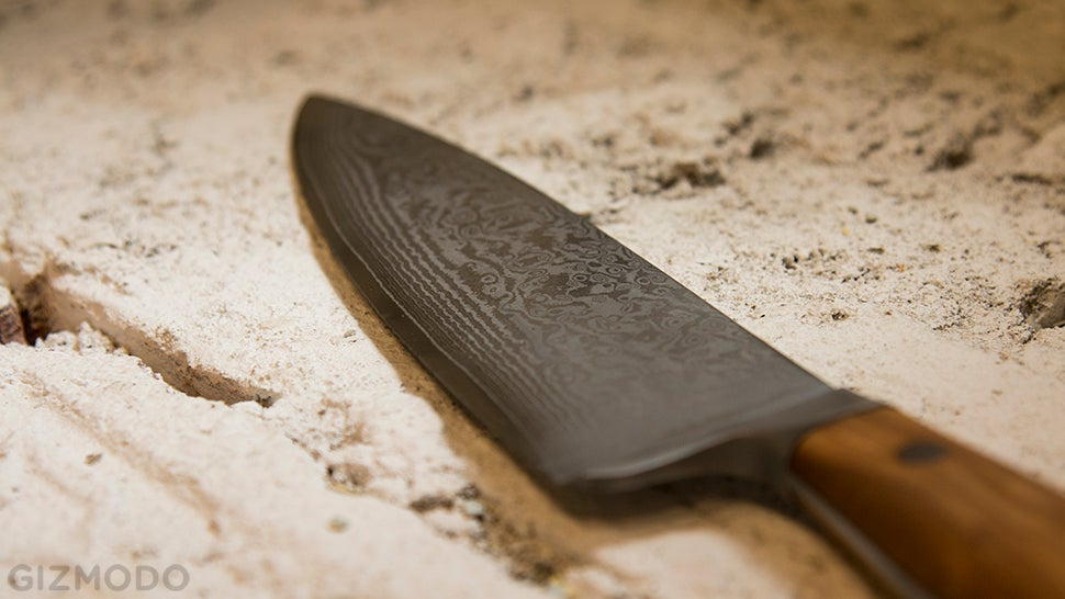 This Beautiful Chef's Knife Is Beautifully Cheap