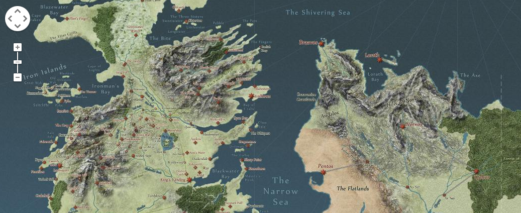 Explore the world of game of thrones as if it were on google maps explore the world of game of thrones as if it were on google maps gumiabroncs Images