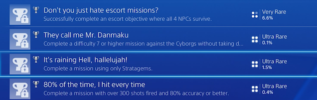 Helldivers Has Some Great Achievements