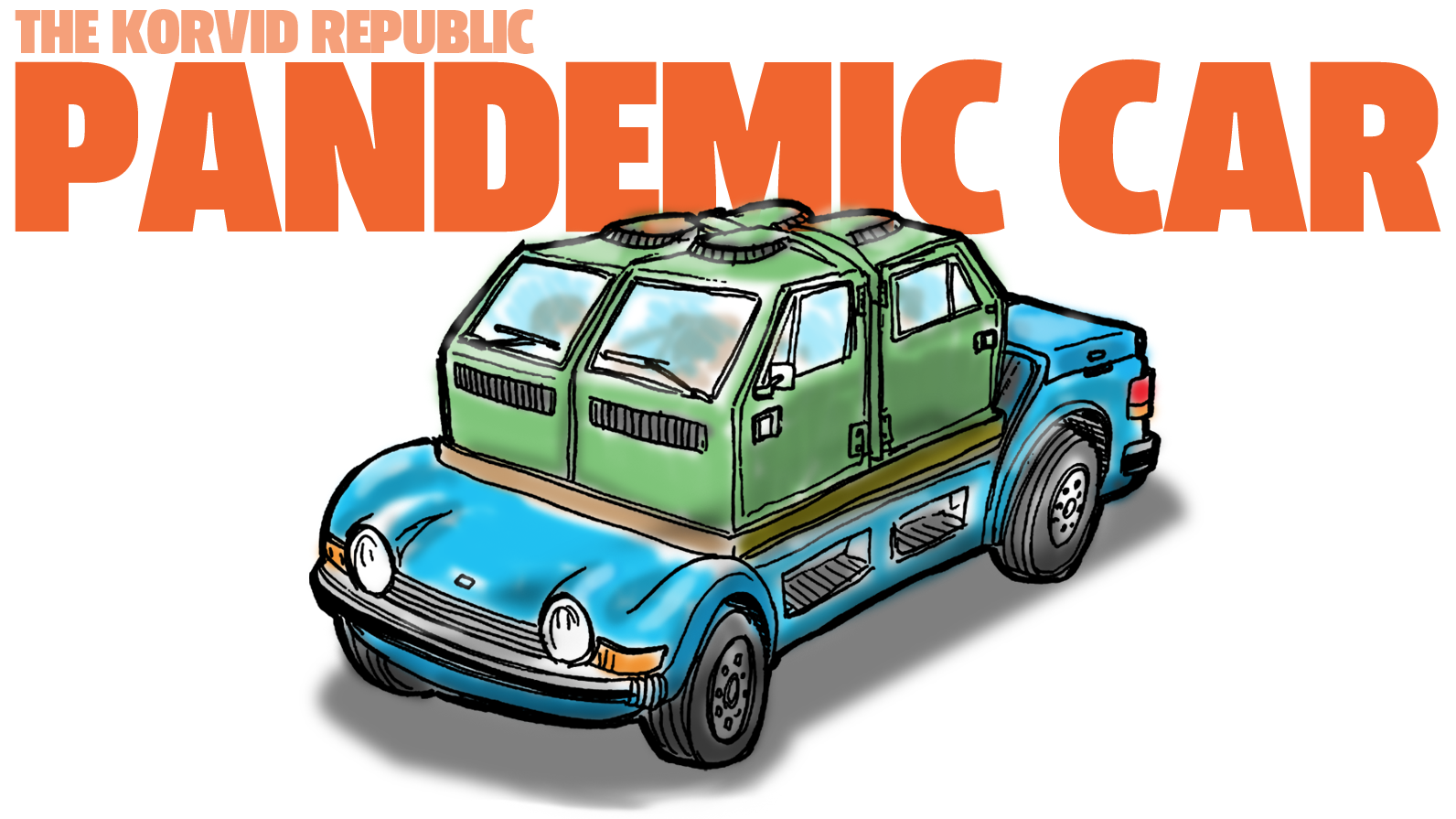 Imaginary Car From An Imaginary Country: The Korvid Republic Pandemic Car