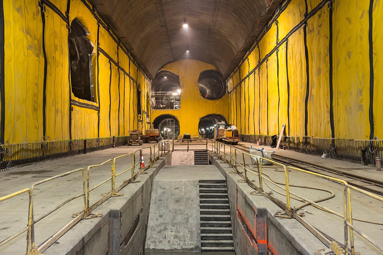 These Enormous Caverns Below NYC Are Starting To Look Like Train Tunnels