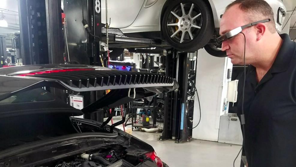 How Smart Glasses Will Help Porsche Technicians Fix Customers' Cars