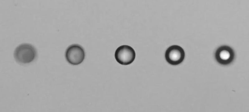 Watch the World's Brightest X-ray Laser Vaporise Water Droplets