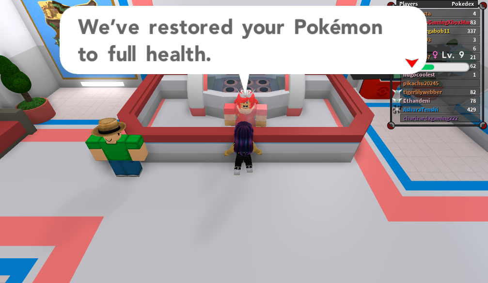 M M Games Roblox Inside The Fan Made Pokemon Mmo Played By Tens Of Thousands