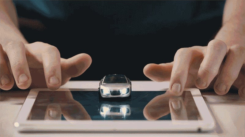 A Racing Game Makes These Tiny Toy Cars Come to Life