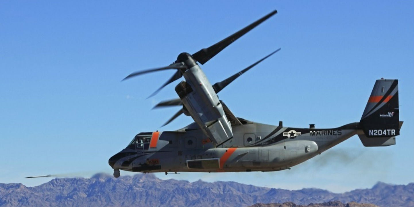 The V-22 Osprey Finally Gets Some Proper Talons
