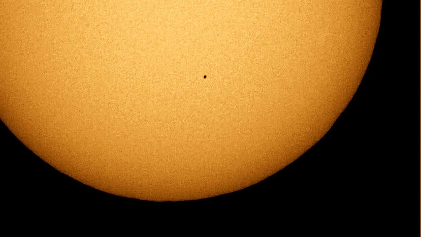 Oh Boy, Mercury Is Gonna Transit The Sun