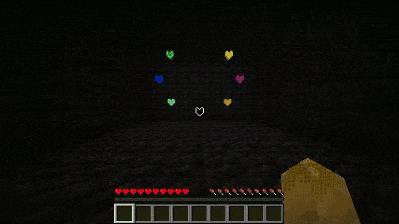 It's Friggin' Hard to Beat Undertale's Final Boss in Minecraft