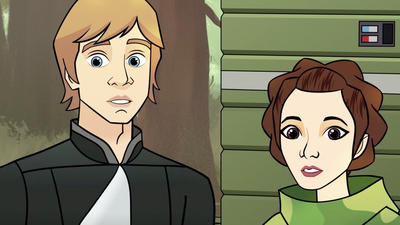 Watch Luke And Leia Team Up With The Ewoks Again Immediately After Return Of The Jedi