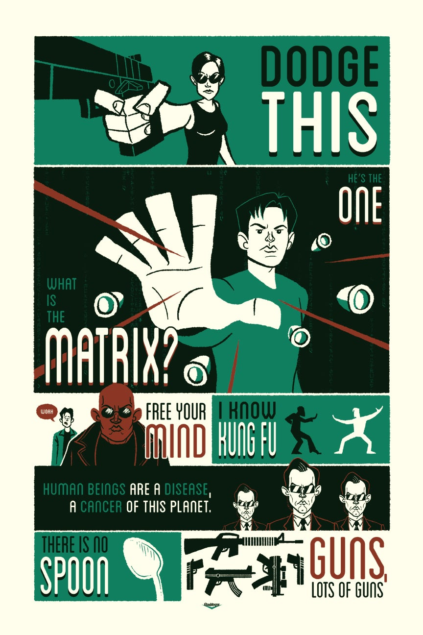 A New Art Show Brings Your Favourite Movie Quotes to Life