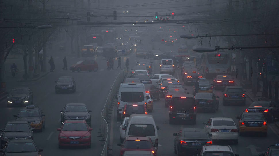 Over 90 Per Cent Of The World Is Breathing Really Crappy Air