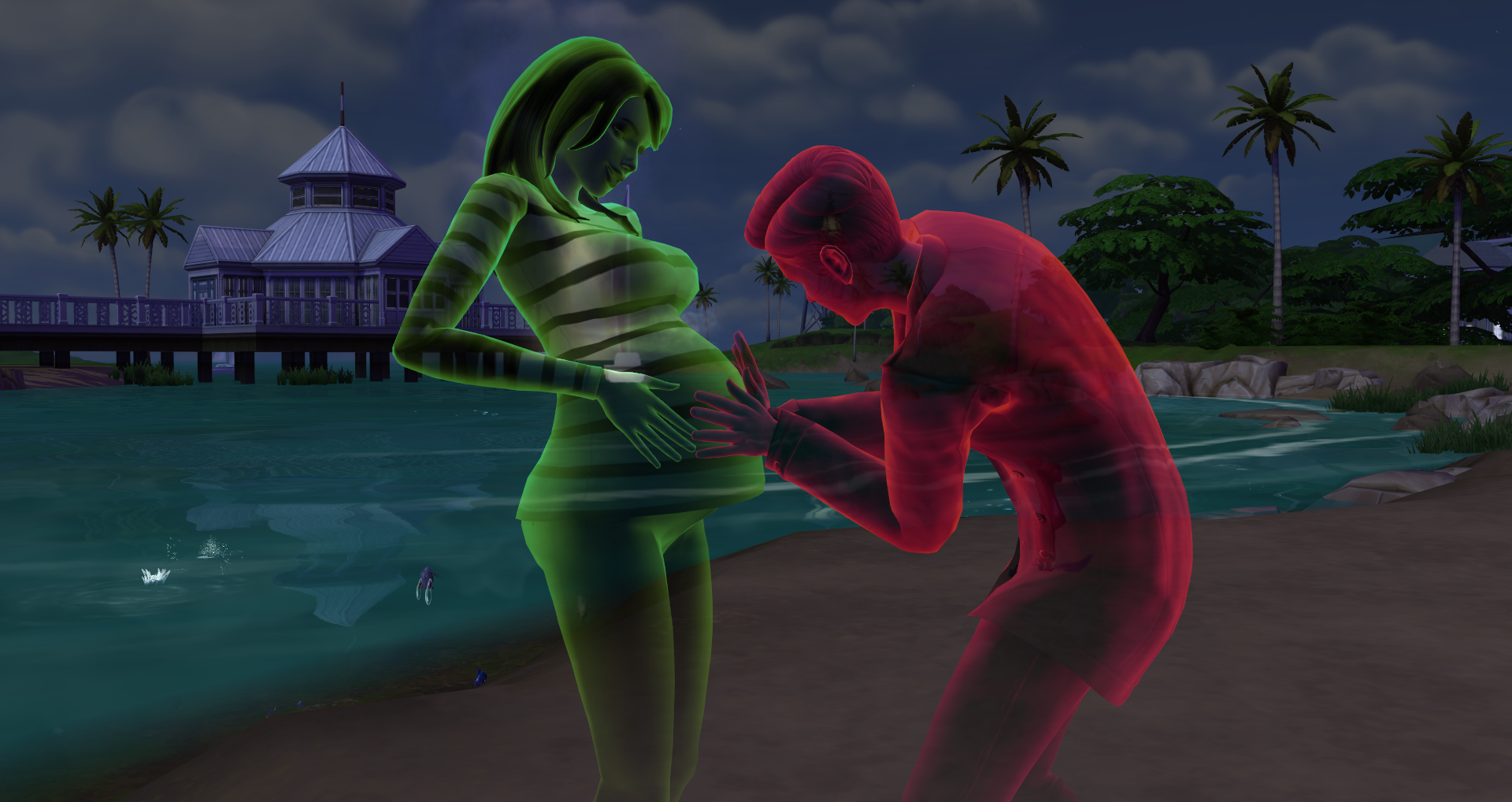Some Players Really Want To Get Ghost Sims Pregnant