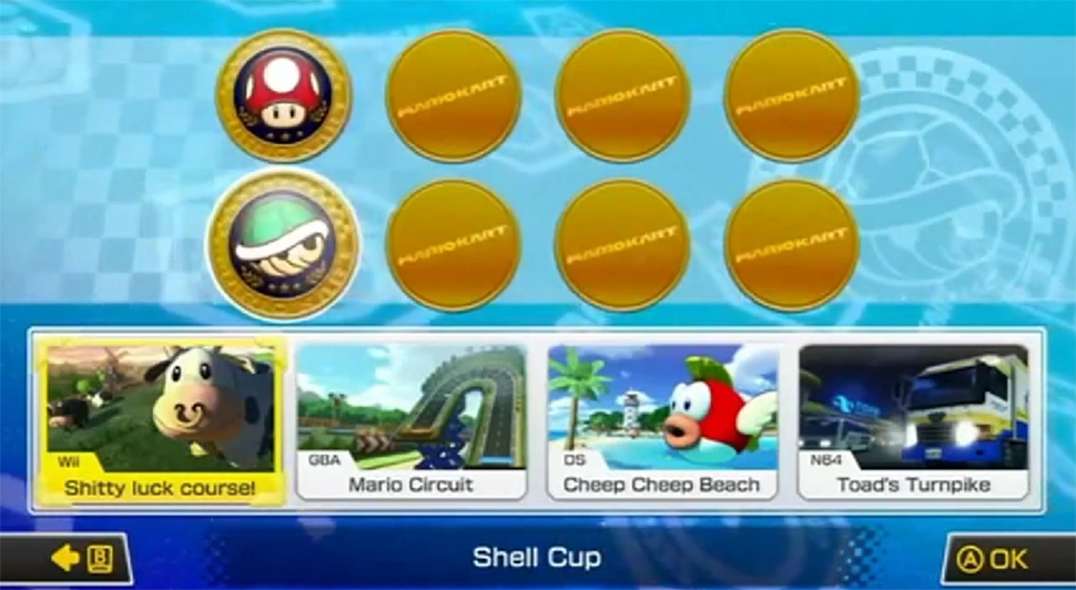Modders Begin Hacking Into Mario Kart 8