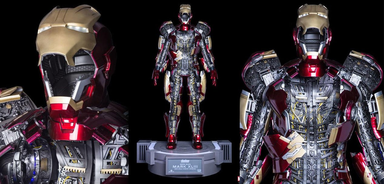 There Are 46 Motors Powering 567 Parts In This Amazing Life-size Iron Man Armour