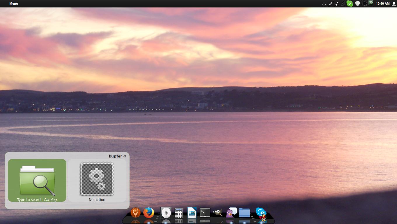 The OS LinuX Desktop