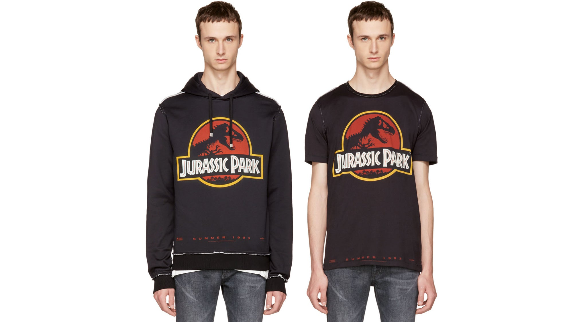 This $900 Dolce & Gabbana Hoodie And $570 Tee Are For The Most Die-Hard Jurassic Park Fans