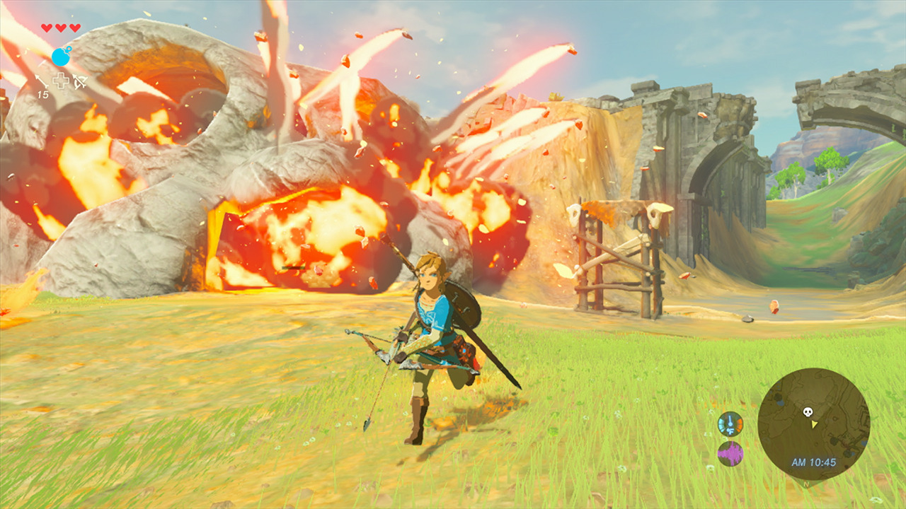Hands On With The Legend Of Zelda: Breath Of The Wild