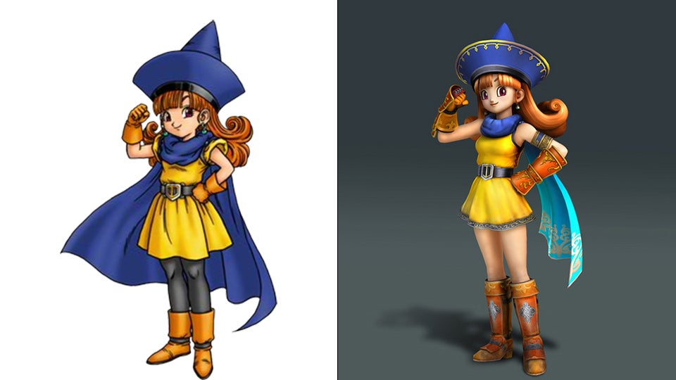 Dragon Quest Gets a Facelift