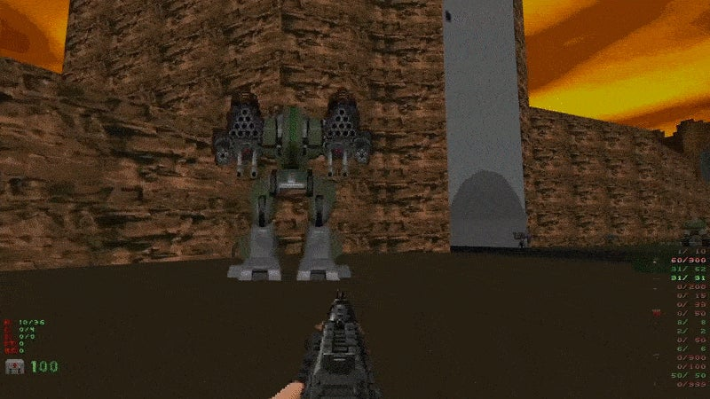 Doom with Mechs, Tanks and Helicopters Looks Like a Fun Time