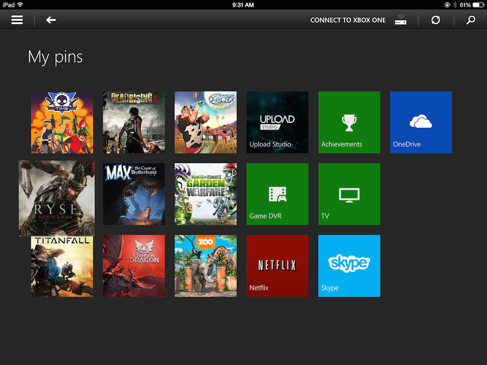 How To Rearrange The Xbox One's Dashboard Pins