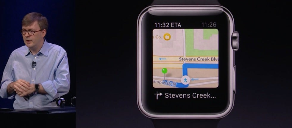 Apple Watch's Walking Directions Buzz Your Wrist When It's Time to Turn