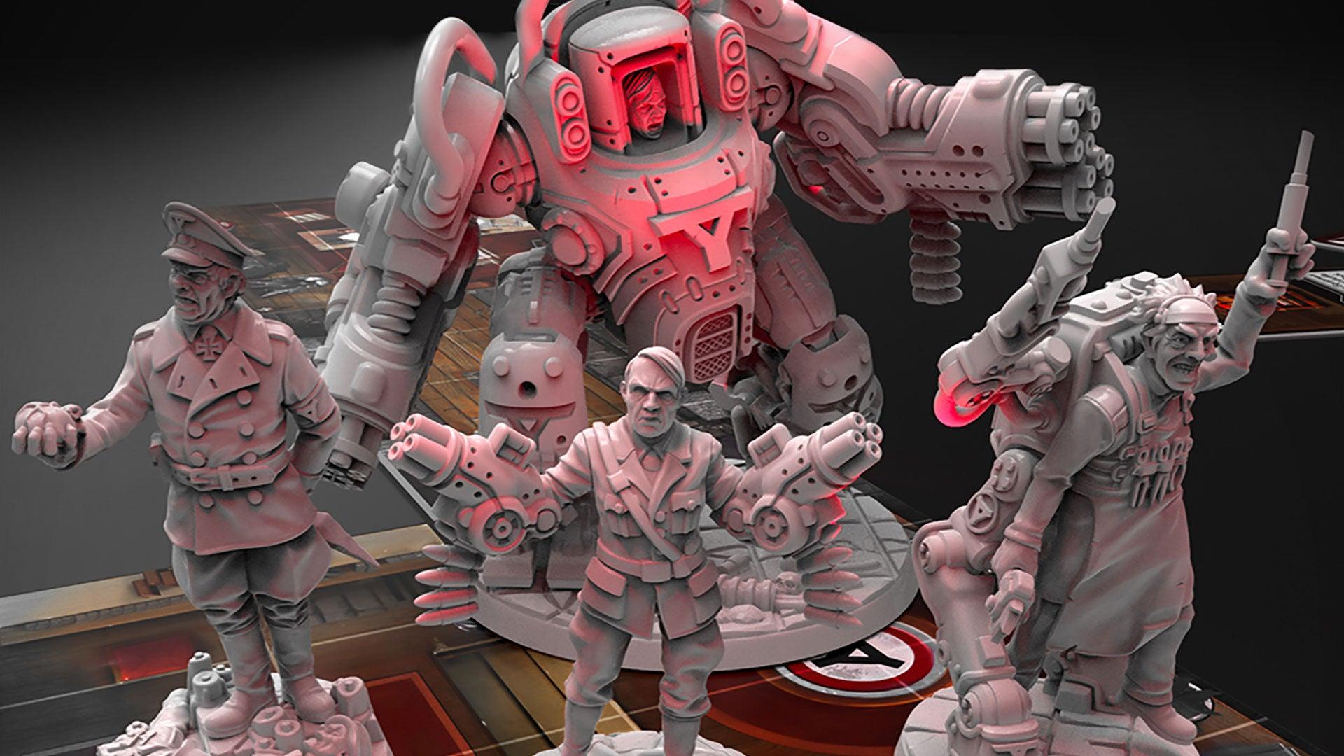 Wolfenstein Is Now A Board Game