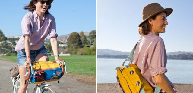 This Convertible Bike Bag Will Save You From A Sweaty Back