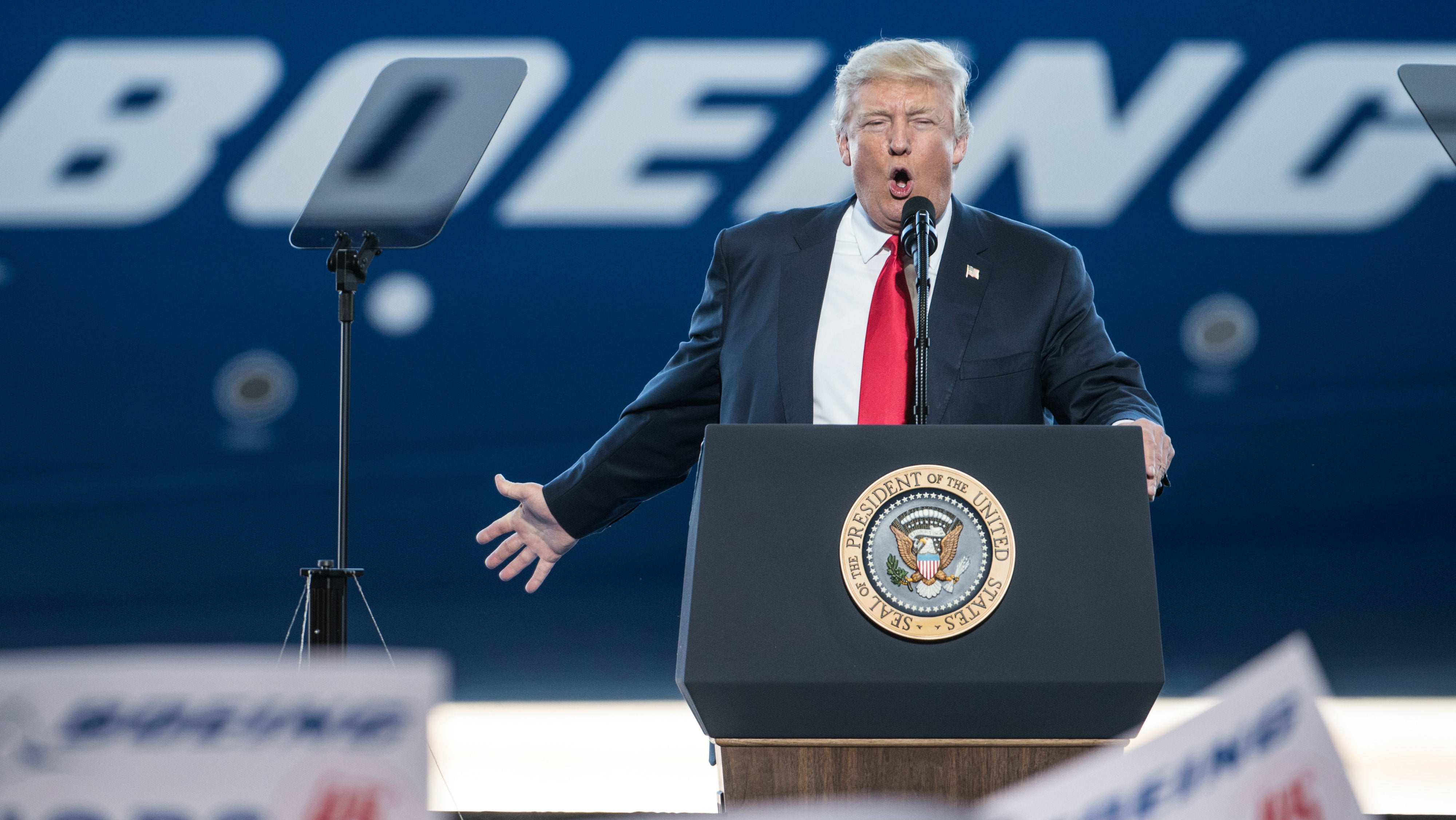 Donald Trump Praises 'Beautiful' Plane He Vowed To Never Fly On