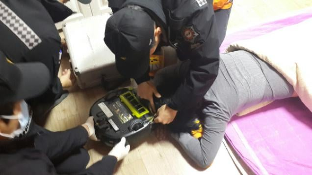 Robot Vacuum Attempts to Chew Owner's Head Off