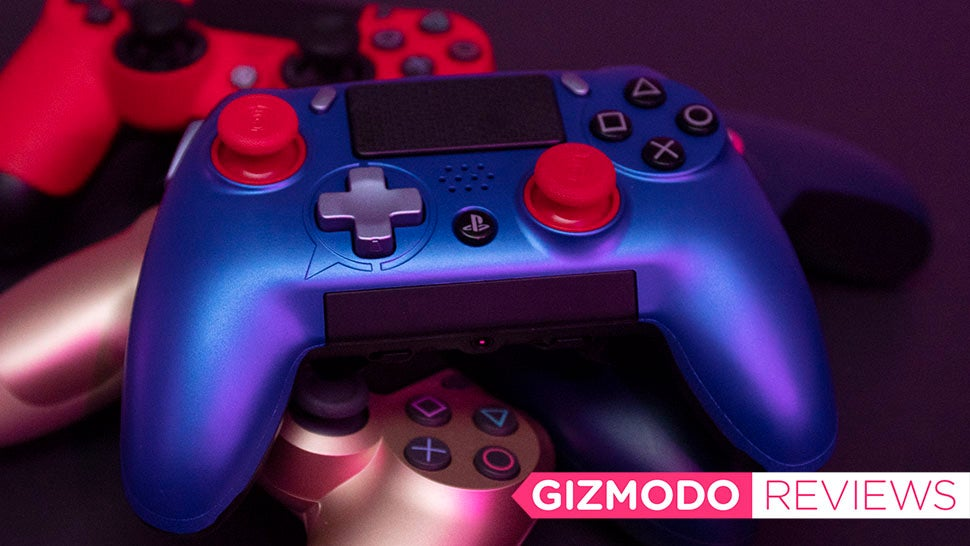 The PS4 Finally Has A Super Customisable Controller, And It Is Excellent