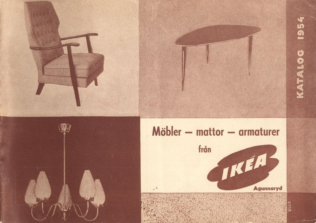 Ikea Is Reissuing Amazing Old Designs From The 1950s And